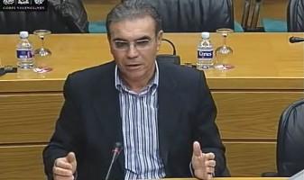 Josep Maria Panyella, diputat de Compromís a les Corts Valencianes